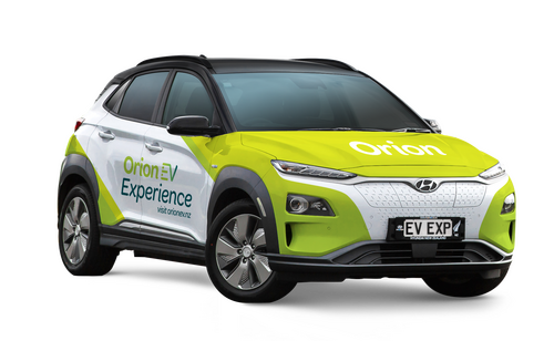 Hyundai Kona for Orion EV Experience
